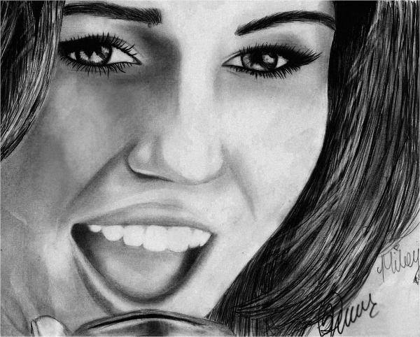 Miley Cyrus by cherrysam